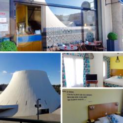 Hotel style année 50, où l'architecture Perret est au coeur de la décoration. Installé en face du Volcan de Niemeyer.